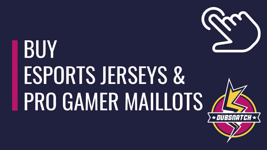Buy esports jerseys and pro gamer maillots online