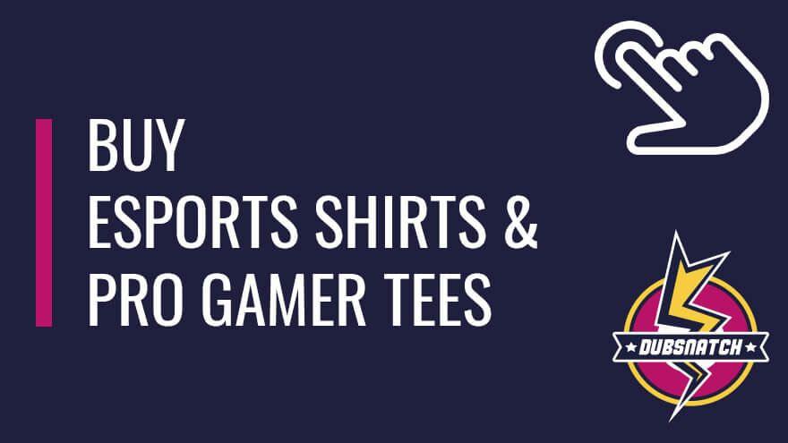 Buy esports shirts and pro gamer tees for professional gamers