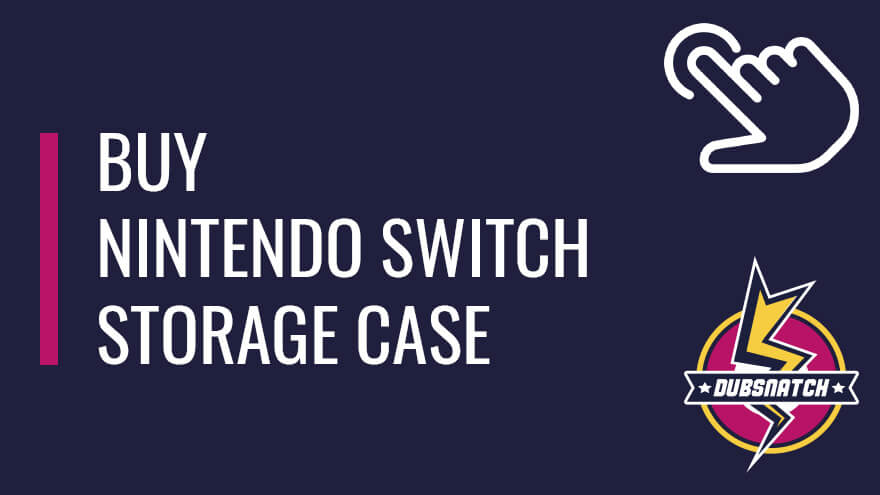Buy Nintendo Switch protective cases and carrying storage bag