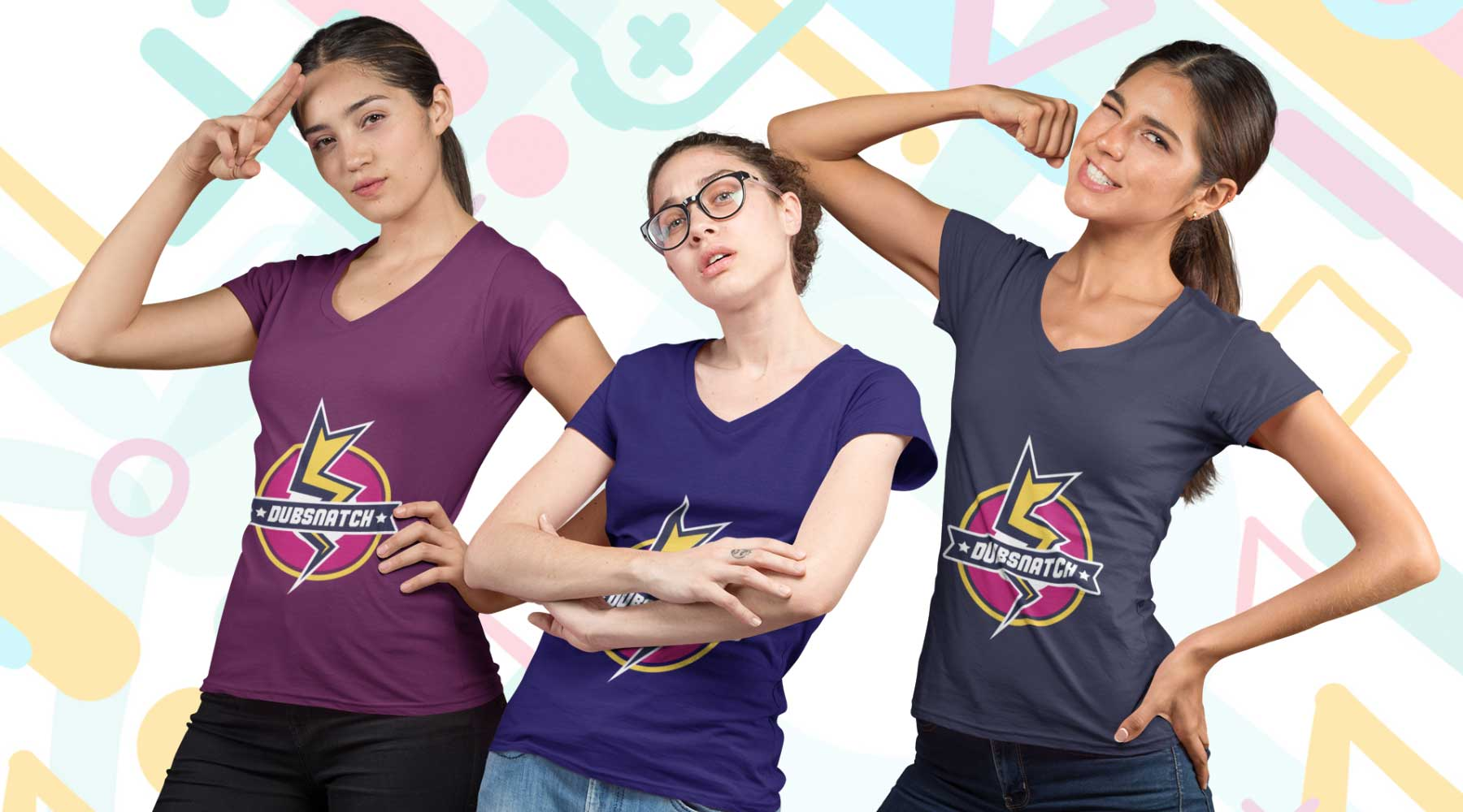 Shop gamer and geek apparel online for women
