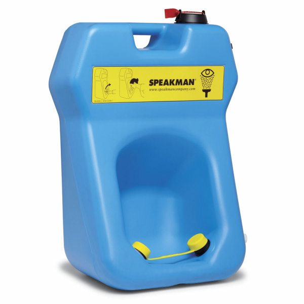 Speakman SE-4300 Portable Eyewash, 20 gallon gravity-fed eyewash