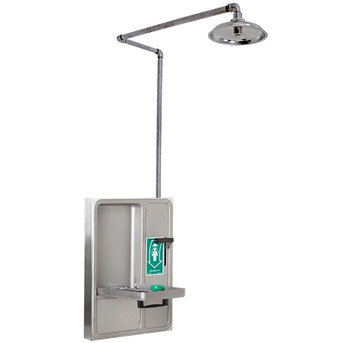 Haws 8356WCSM AXION MSR Surface Mount Shower and Eye/Face Wash