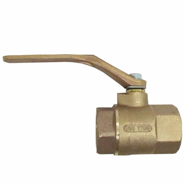 "Speakman SE-912-T Stay open ball valve, 1-1/2"" female inlet, 1-1/2"" female outlet, vertical installation"