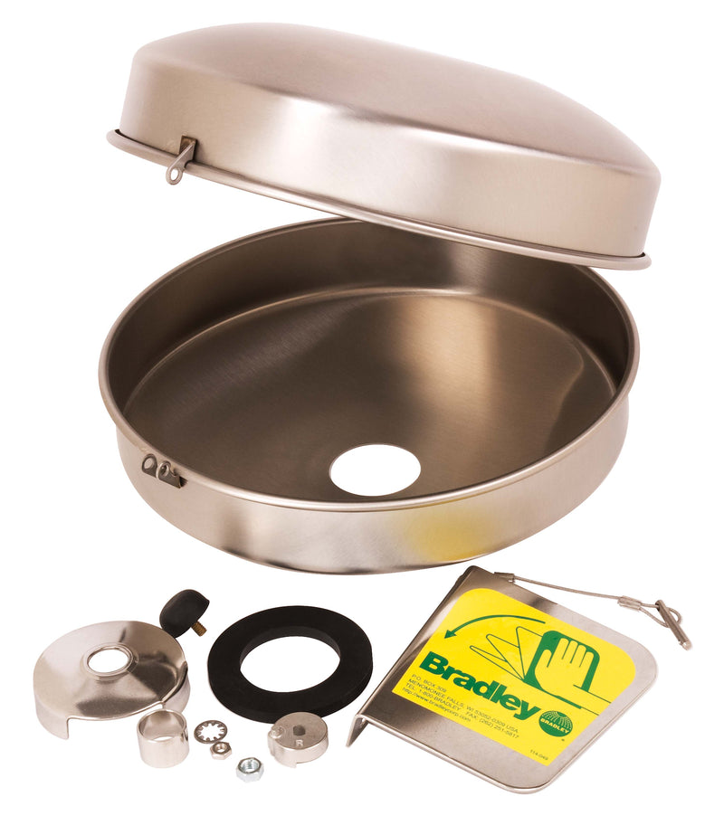 Bradley S45-2396 Eyewash Dust Cover Retrofit Kit Stainless Steel
