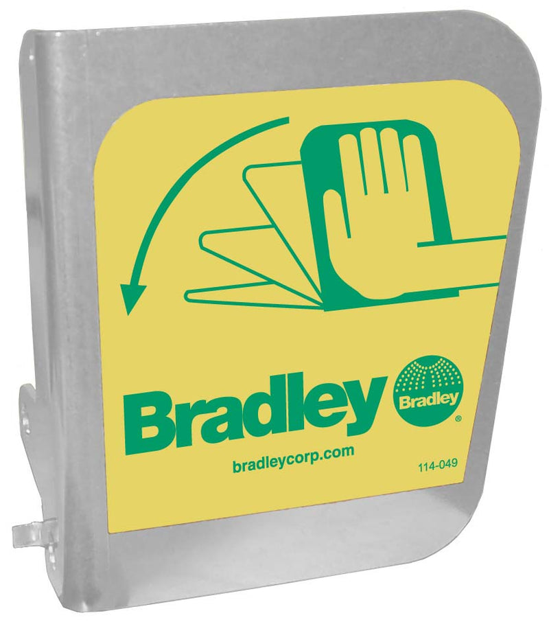 Bradley S08-338 Eyewash Flag Handle Replacement Part