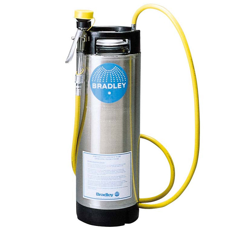 Bradley S19-670 Portable Eyewash 5 Gallon w/ Drench Hose Only