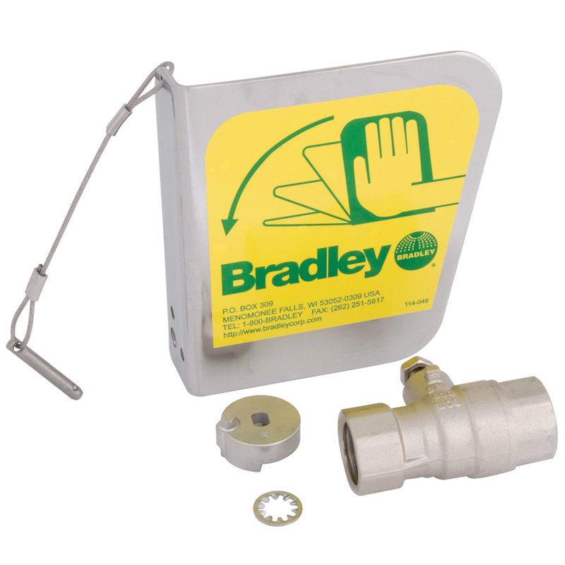 "Bradley S30-072 1/2""Ball Vlv/Dc Handle Prk"