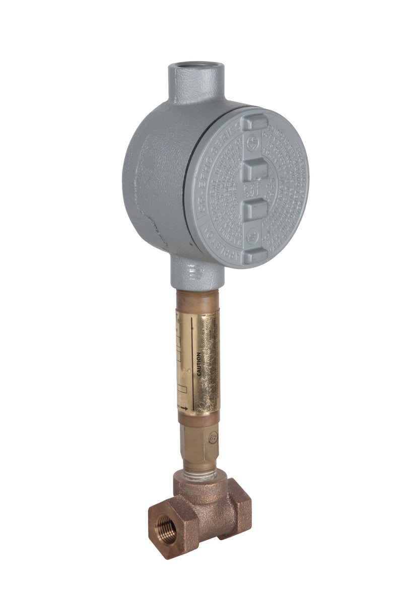 "Bradley S19-319B2 Brass Flow Switch, 1/2"" NPT"