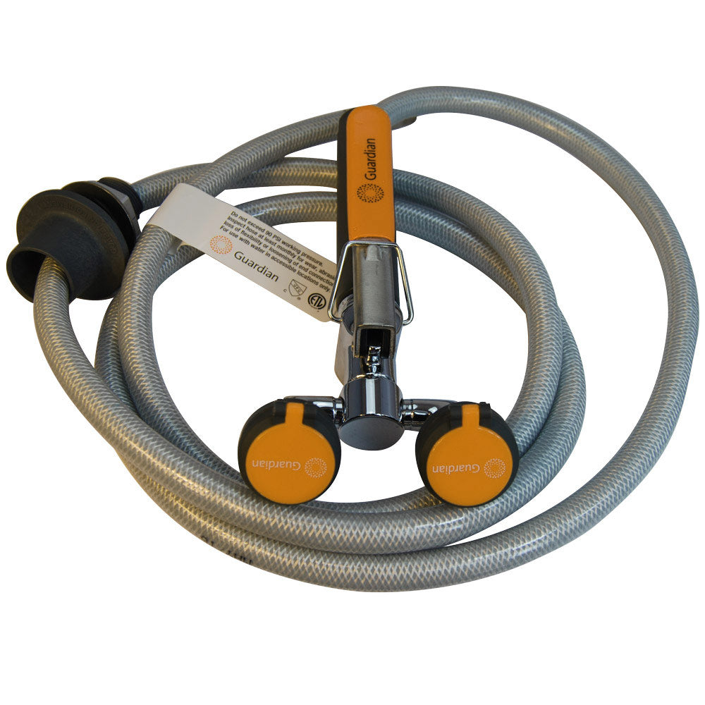 Guardian G5022 Emergency Eyewash/Drench Hose Unit, Deck Mounted