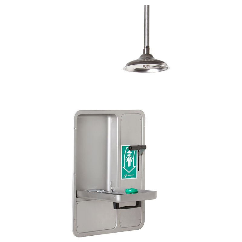 Haws 8356WCC-STD Recessed Barrier Free Eyewash Station Drench Shower