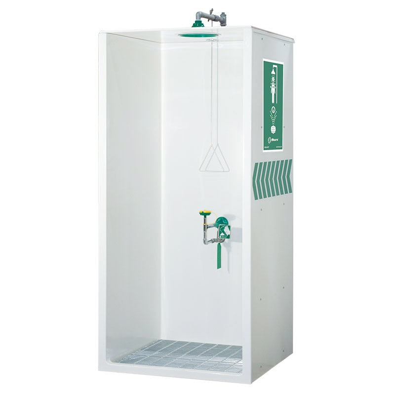 Haws 8605WC AXION MSR Enclosed Eyewash Station Drench Shower