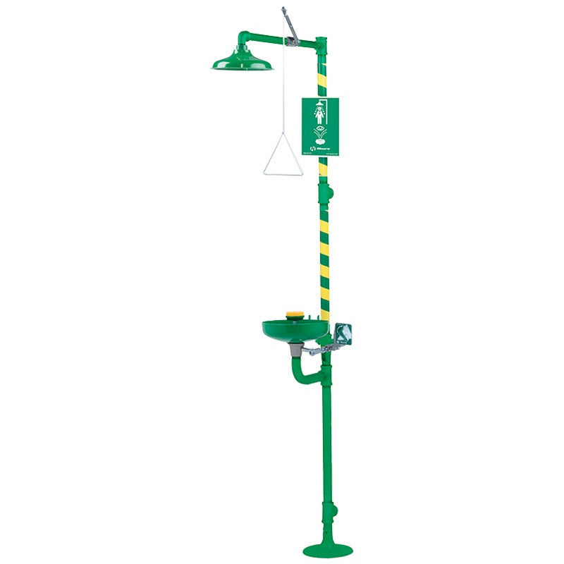 Haws 8320CRP AXION MSR Corrosion Resistant Eyewash Station Shower