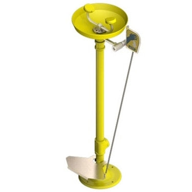 Acorn S0320-HFC Pedestal Mounted Eye/Face Wash Station w/ Foot Control