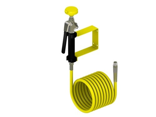 Acorn S0401-CH12 Wall Mounted Self Closing Drench Hose w/ 12' Hose
