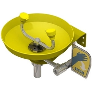 Acorn S0410-PT1 Wall Mounted Eye Wash Station Plastic Bowl w/ P Trap.