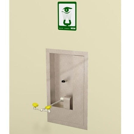 Acorn S0560-PAN Recessed Wall Mounted, Swing Down Eye/Face Wash Station
