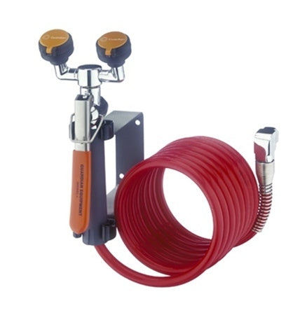 Guardian G5046BP Eyewash/Drench Hose Unit, Wall Mounted, Includes Backflow Preventer
