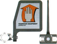 Guardian 050-050 Cast Aluminum Eyewash Flag Handle