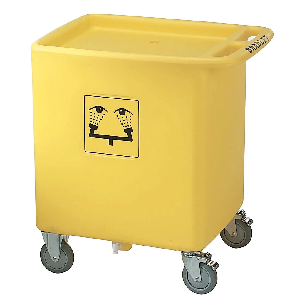 Bradley S19-399 Waste Cart For S19-921 Portable Eyewash