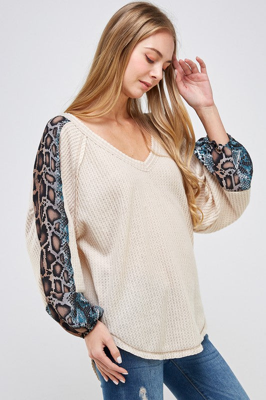 Snake Thermal Top