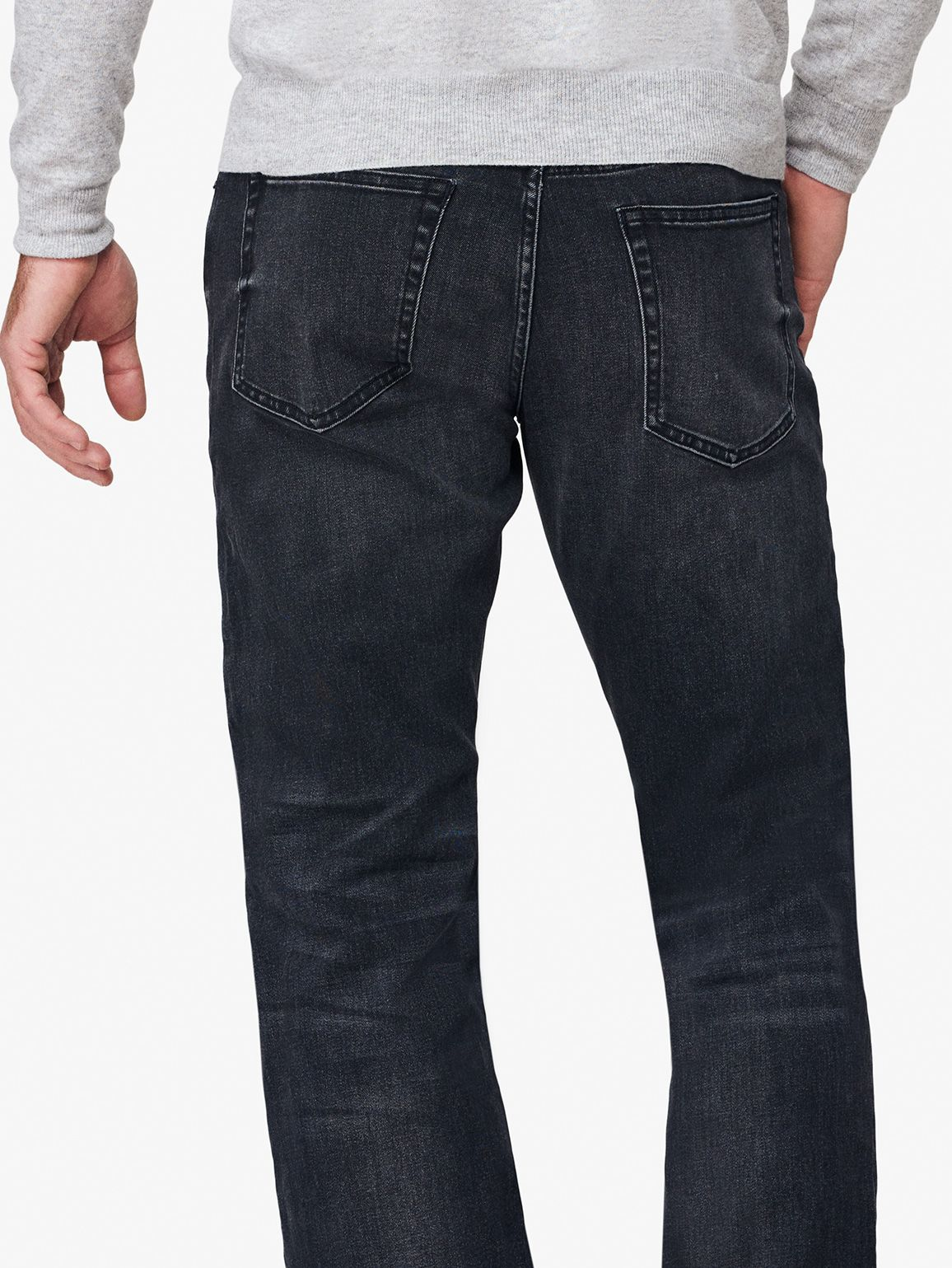 DL1961 JEANS Avery Modern Straight Fit Jean-Blacksmith 10236