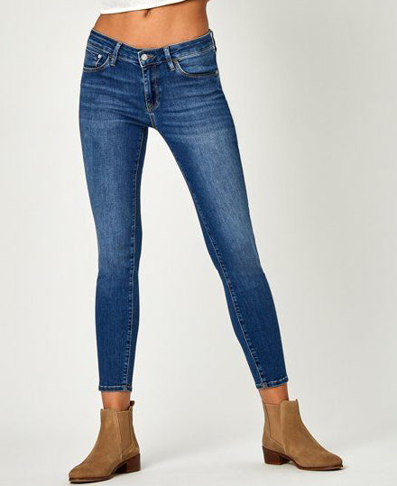 Mavi Adriana Ankle Super Skinny Jean In Mid Supersoft