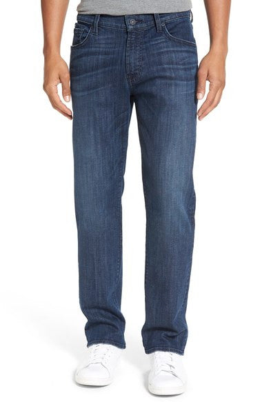 7 For All Mankind Standard Straight Leg Jean Marina Waves