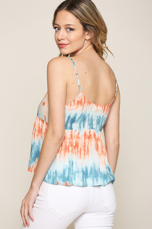 Be Cool Tie Dye Tank 17559 (more colors)