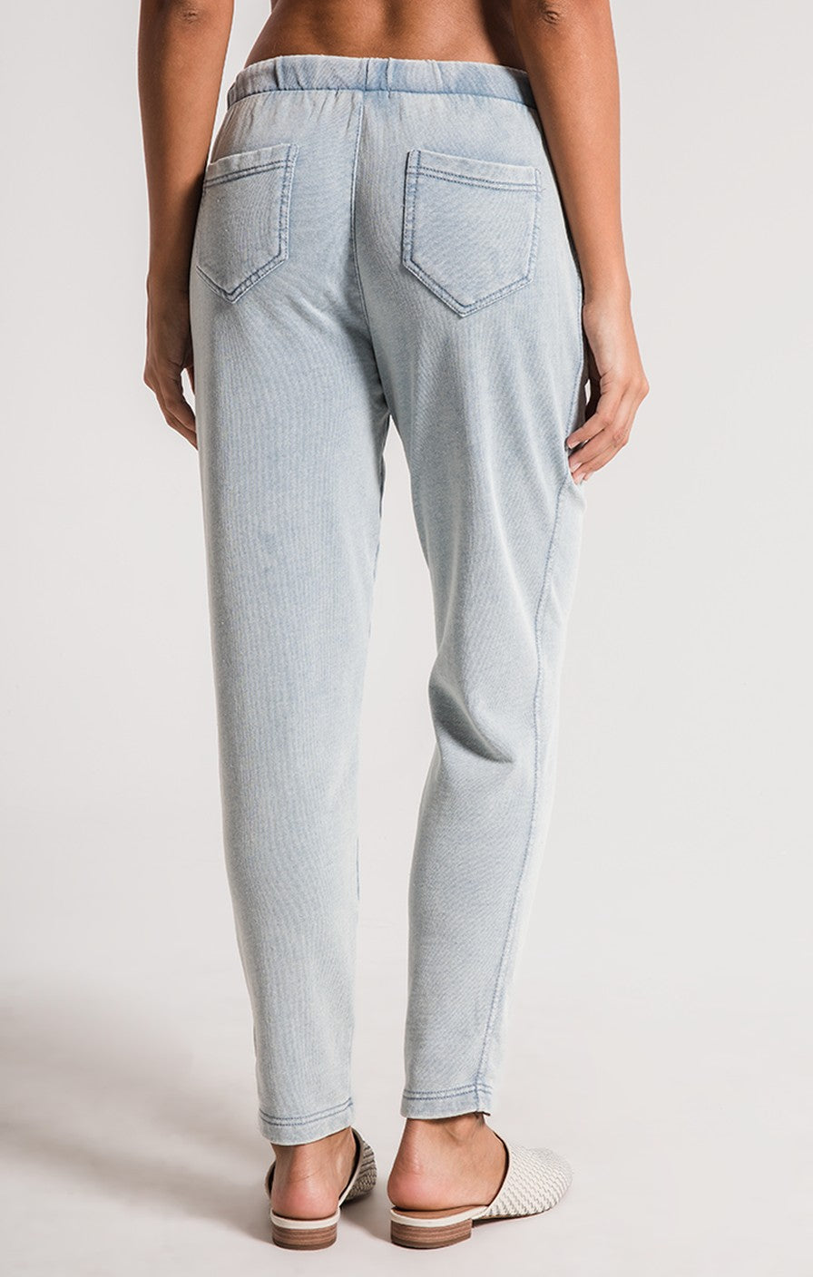 Z Supply Knit Denim Jogger ZP191611