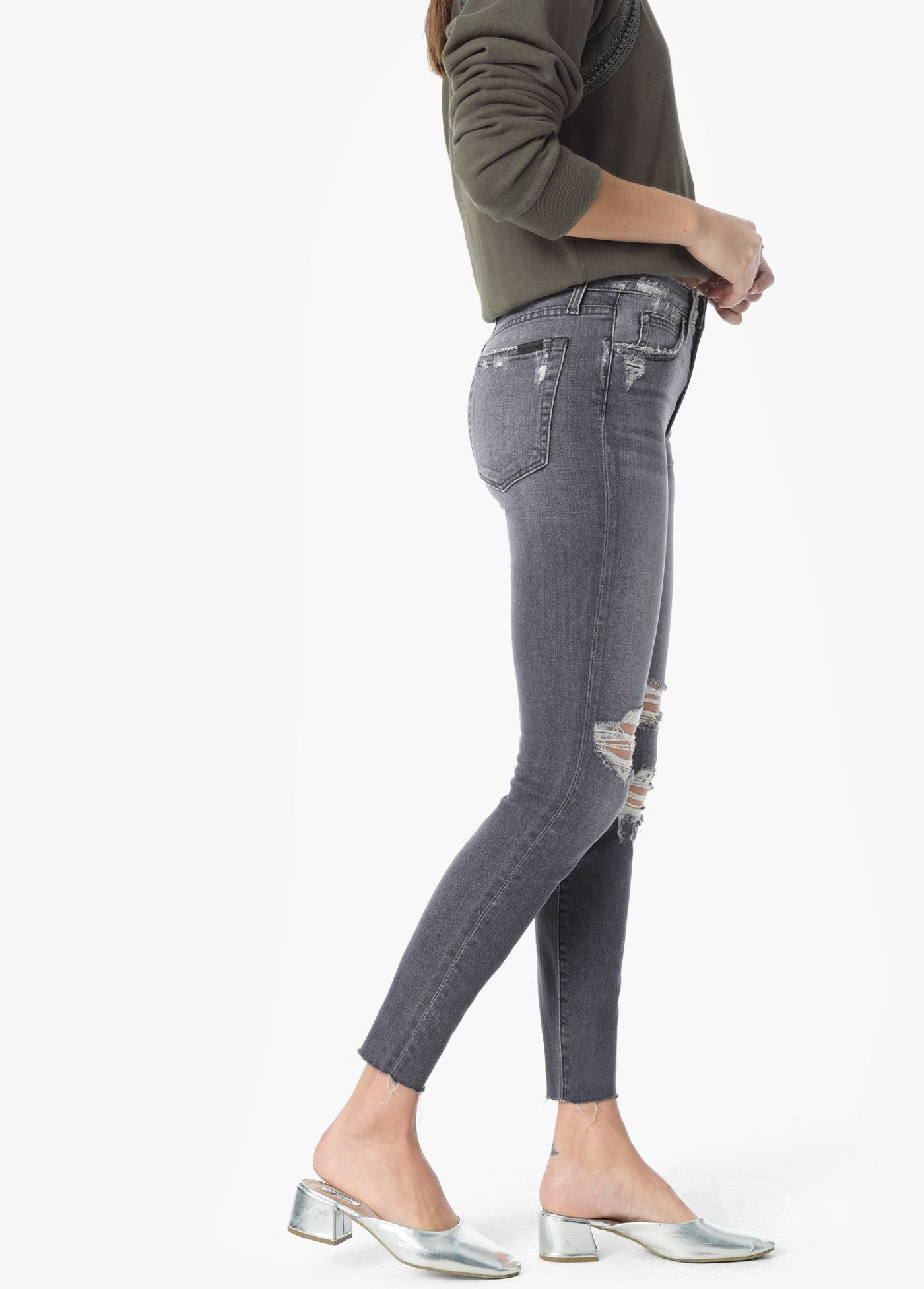 Joe's Charlie Hi Rise Skinny Ankle Jean in Miray 45CL2MI75748-MI