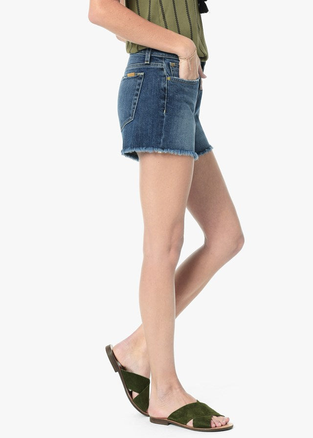 "Joe's Ozzie 4"" Mid Rise Frayed Short - Alma"