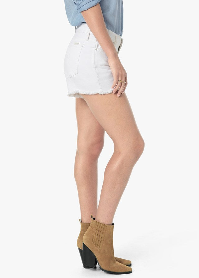 "Joe's Ozzie 4"" Mid Rise Frayed Short - Carol"