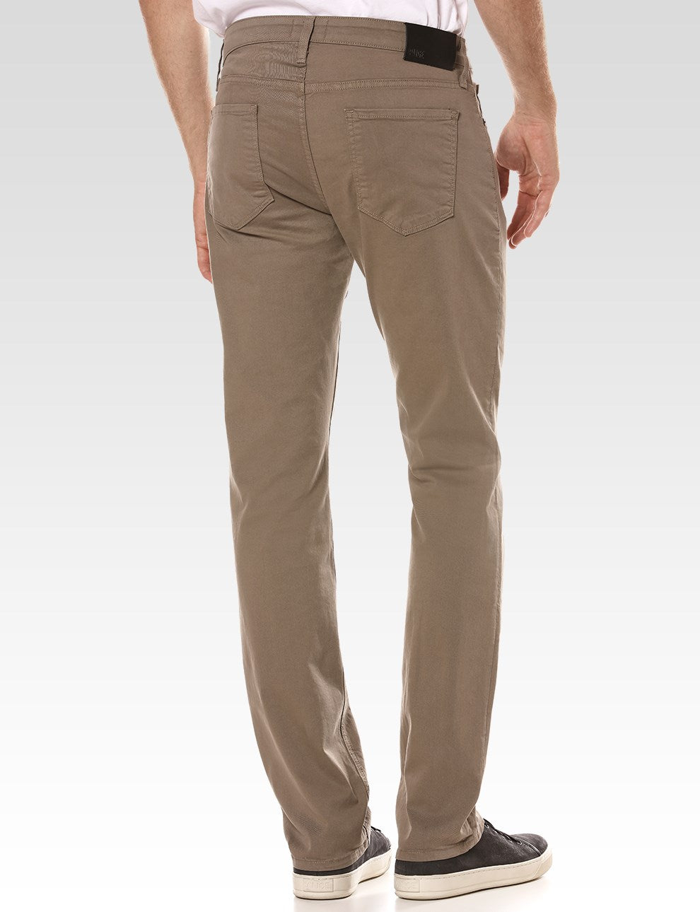 Paige Normandie Slim Fit Iron Mountain Twill Jean