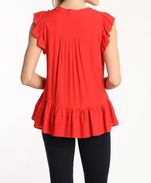 Lace Trim Top (more colors).