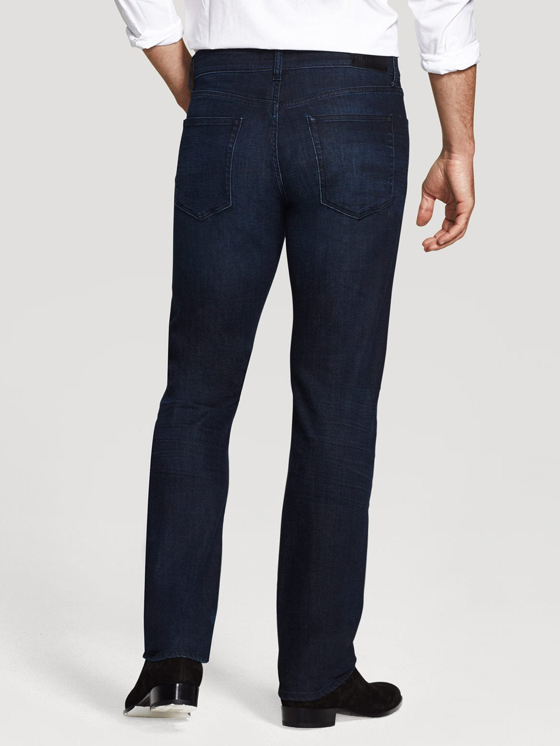 DL1961 Mens Russell Slim Straight Jean in Ink