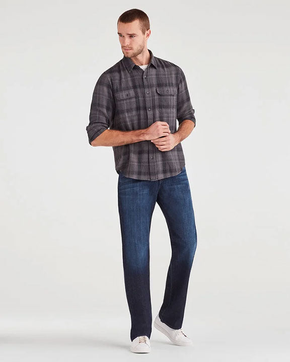 7 For All Mankind Austyn Relaxed Straight in LA Dark T0046380S