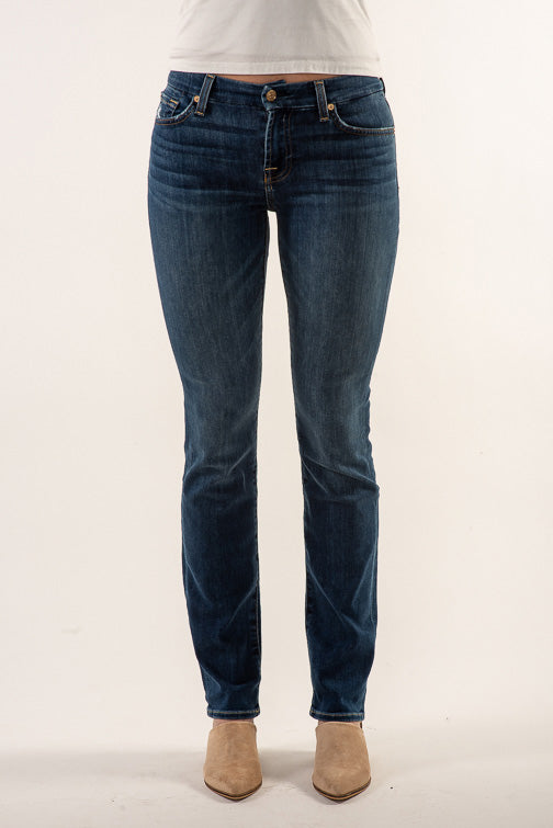 7 For All Mankind Kimmie Straight Leg Jean - Glam