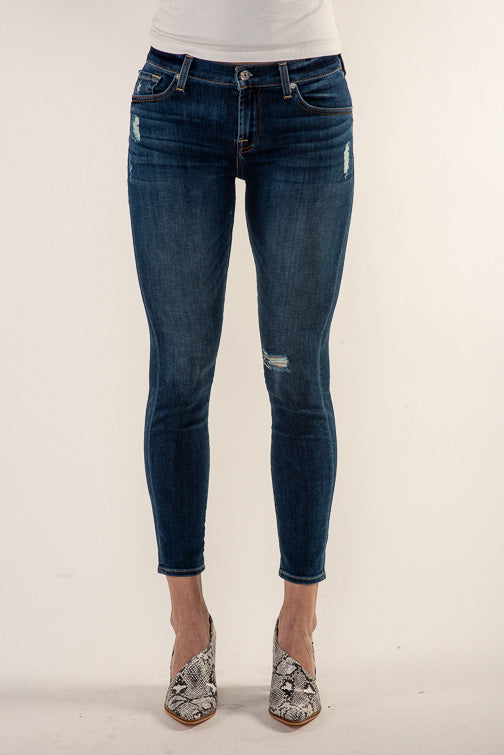 7 For All Mankind Ankle Skinny Jean - Alluring Indigo