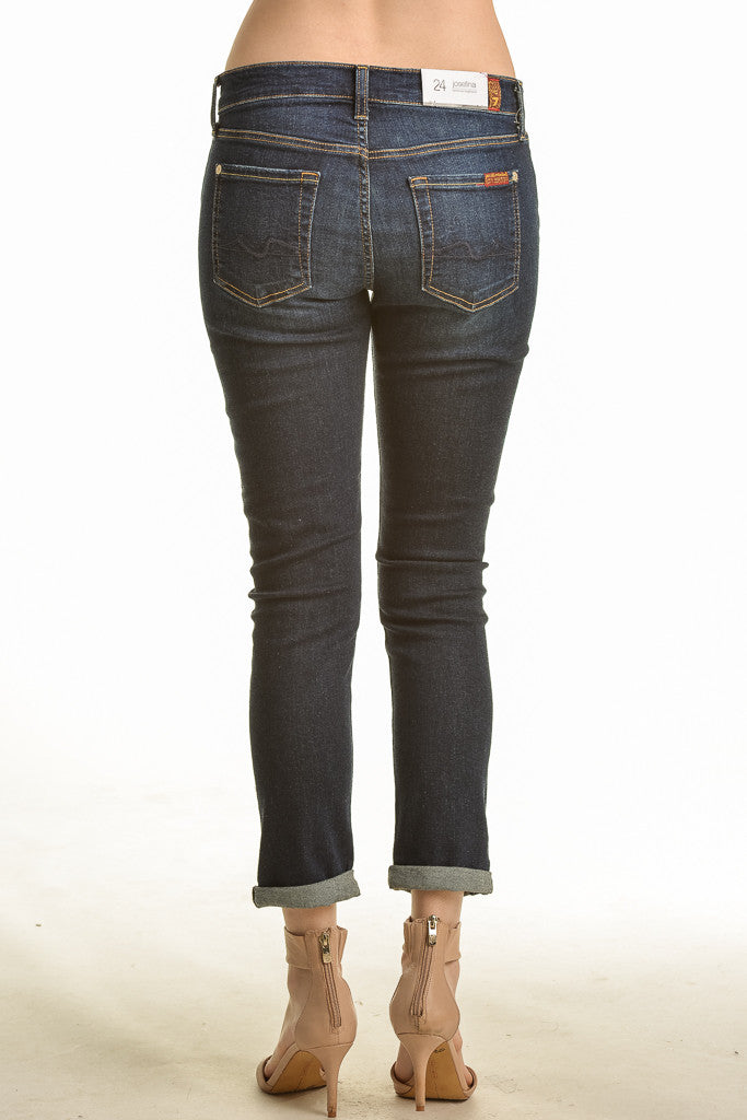 7 For All Mankind Josefina Boyfriend Jean