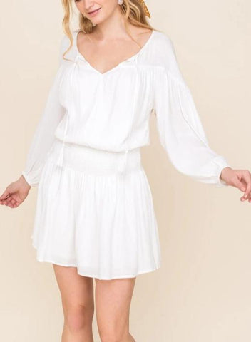 All In Favor Smocked Dress ID3395-FCI