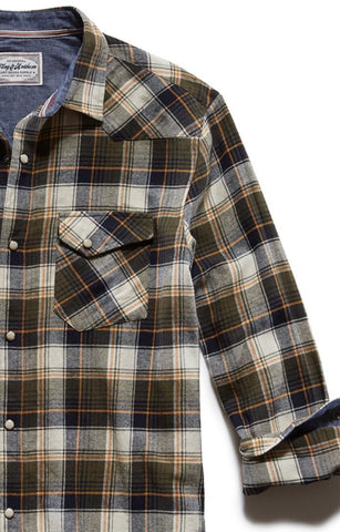 Flag and Anthem Andes Ls Western Flannel Shirt FA19WS311