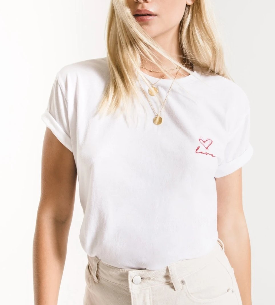Z Supply The Love Heart Tee AT201230