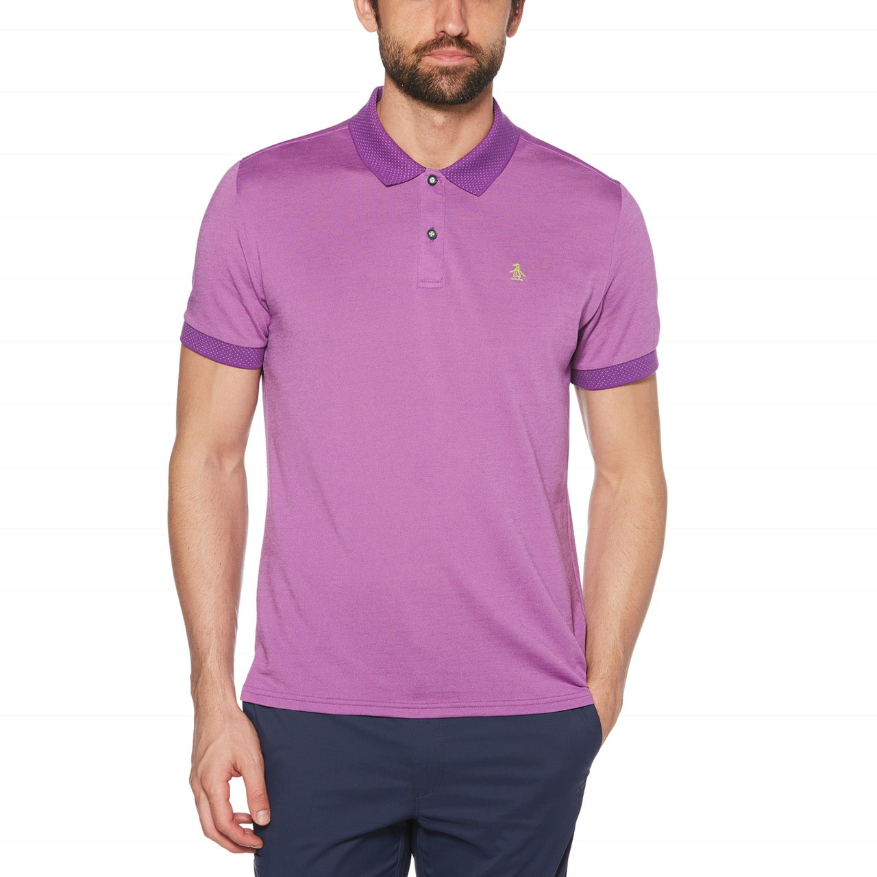 Penguin Golf Birdseye View Polo (more colors)