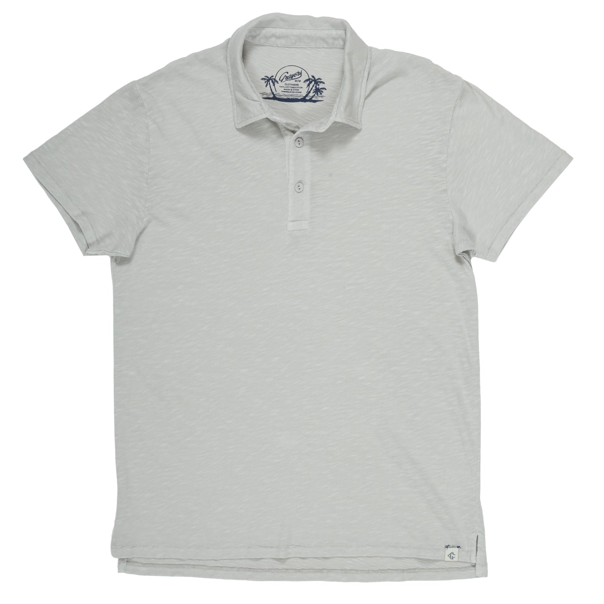 Grayers Madison Jaspe Loose Knit Polo K02SU18 (more colors)