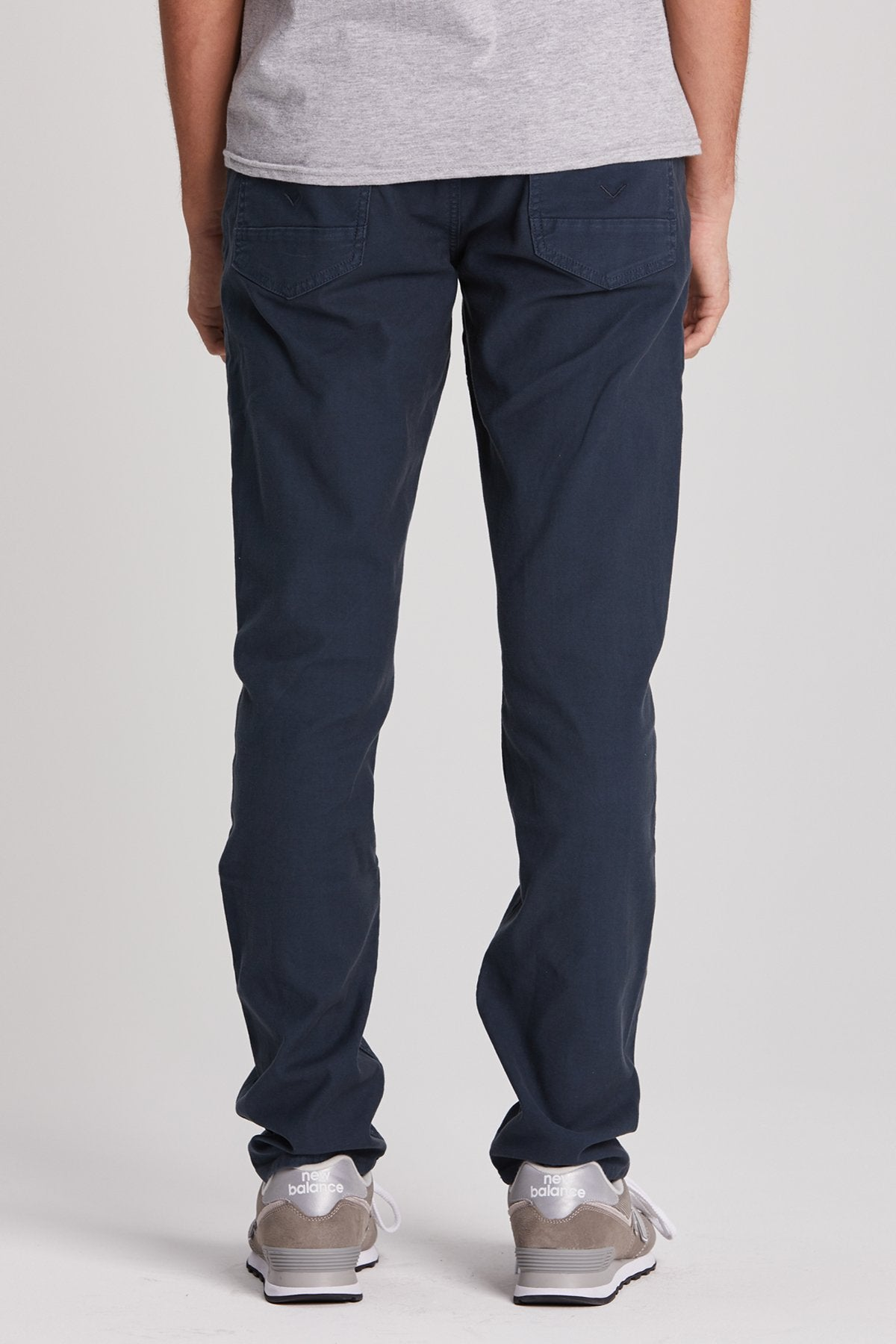Hudson Blake Slim Straight Jean in Midnight Navy M275ZTWR