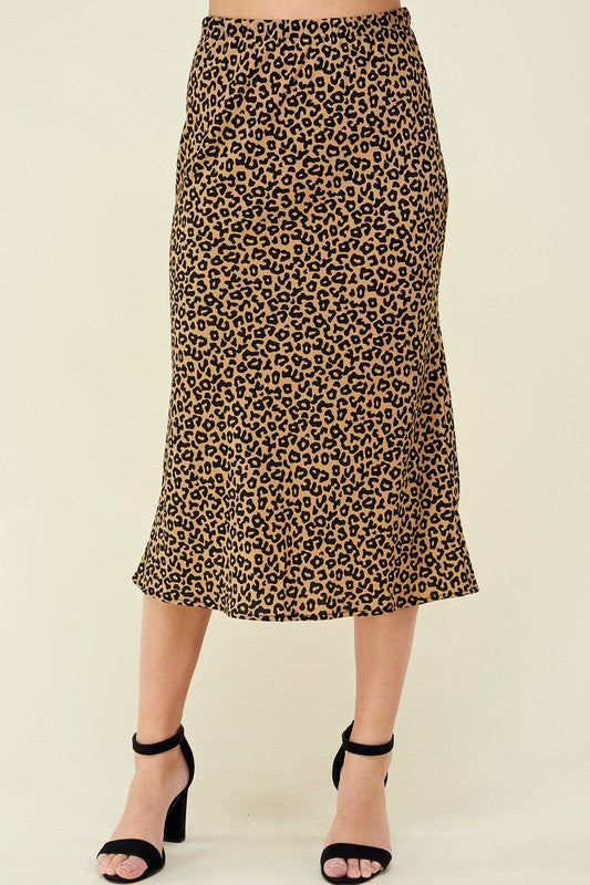 Cheetah Skirt (more colors)