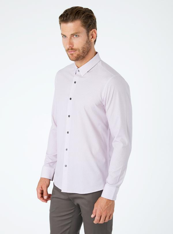 7 Diamonds In My Feeling 4-Way Stretch Shirt SMK-6770 (more colors)