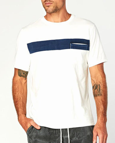 Threads 4 Thought Bold Stripe Pocket Tee TM22009 (more colors)