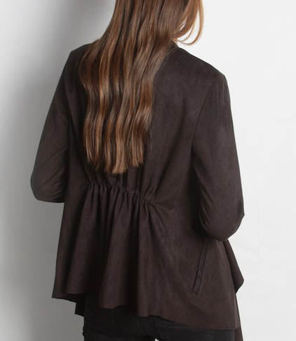 Suede Cardi (more colors)