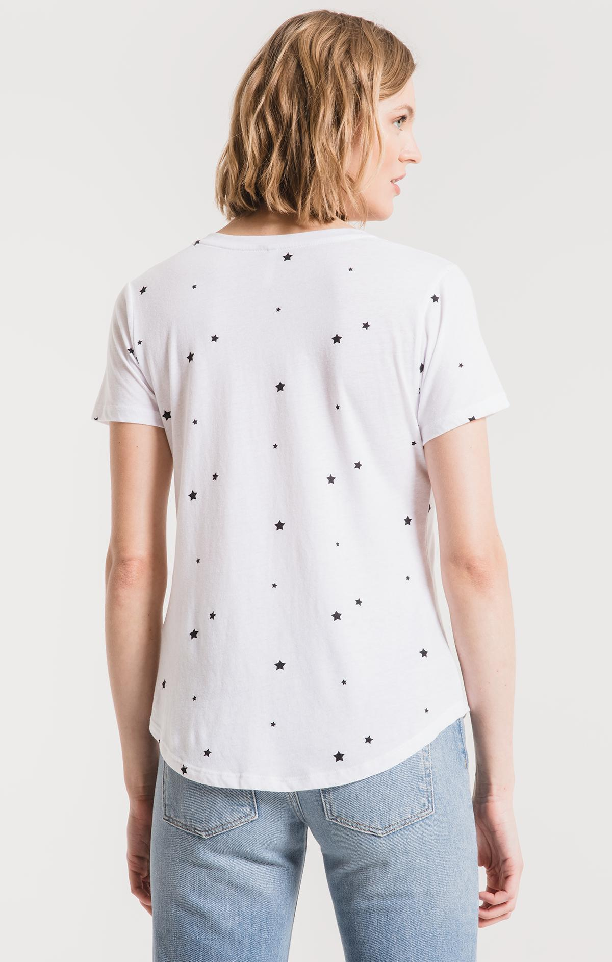 Z Supply Star Print V Neck Top ZT183426